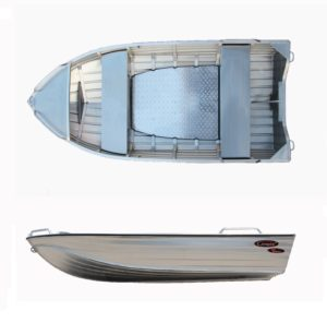 Aluminiumsbåt Kimple 395 Hunter