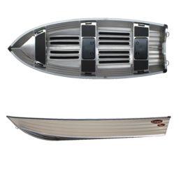 Aluminiumsbåt Kimple 430 Catch