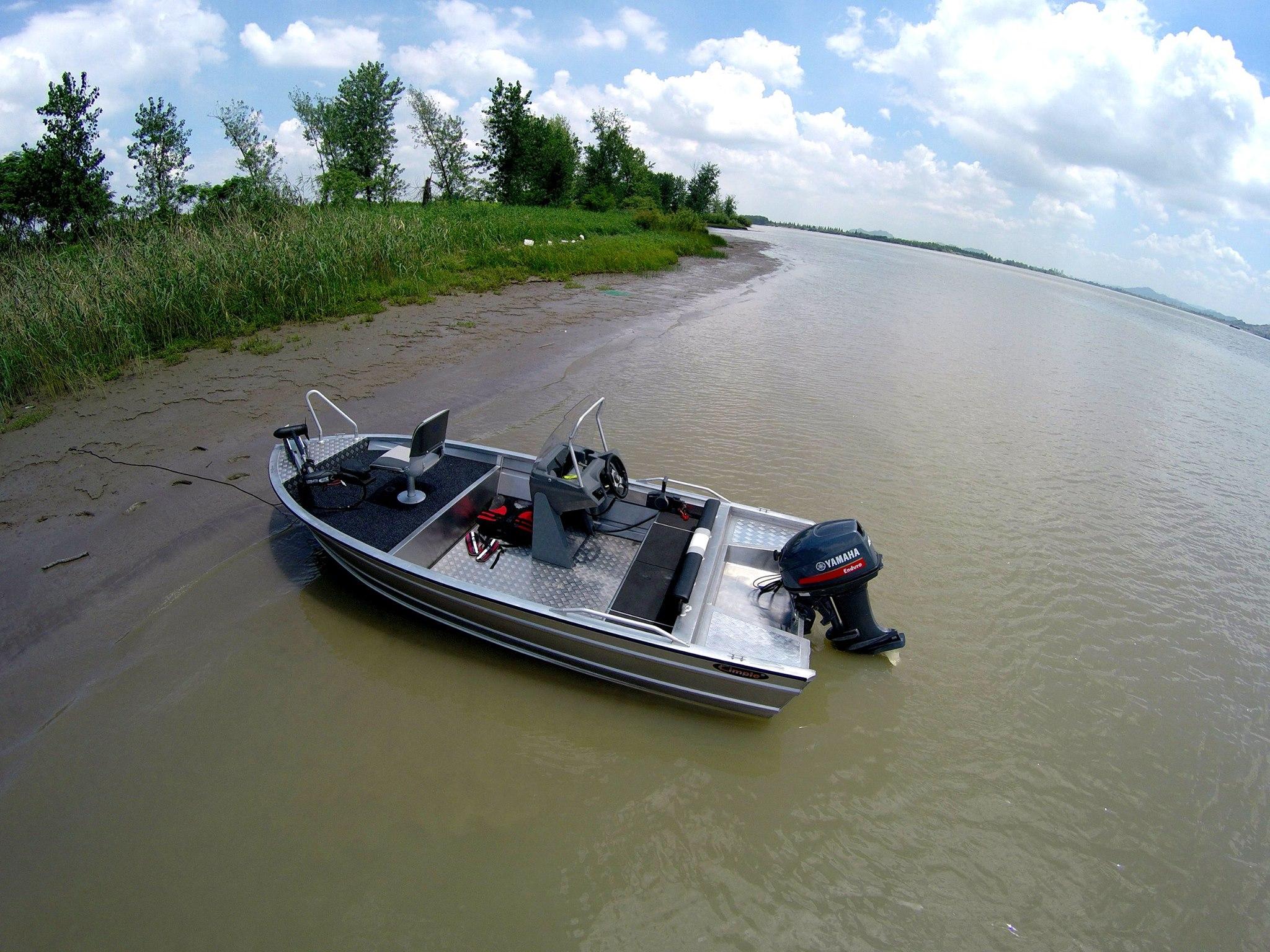 460 Explorer Fishing