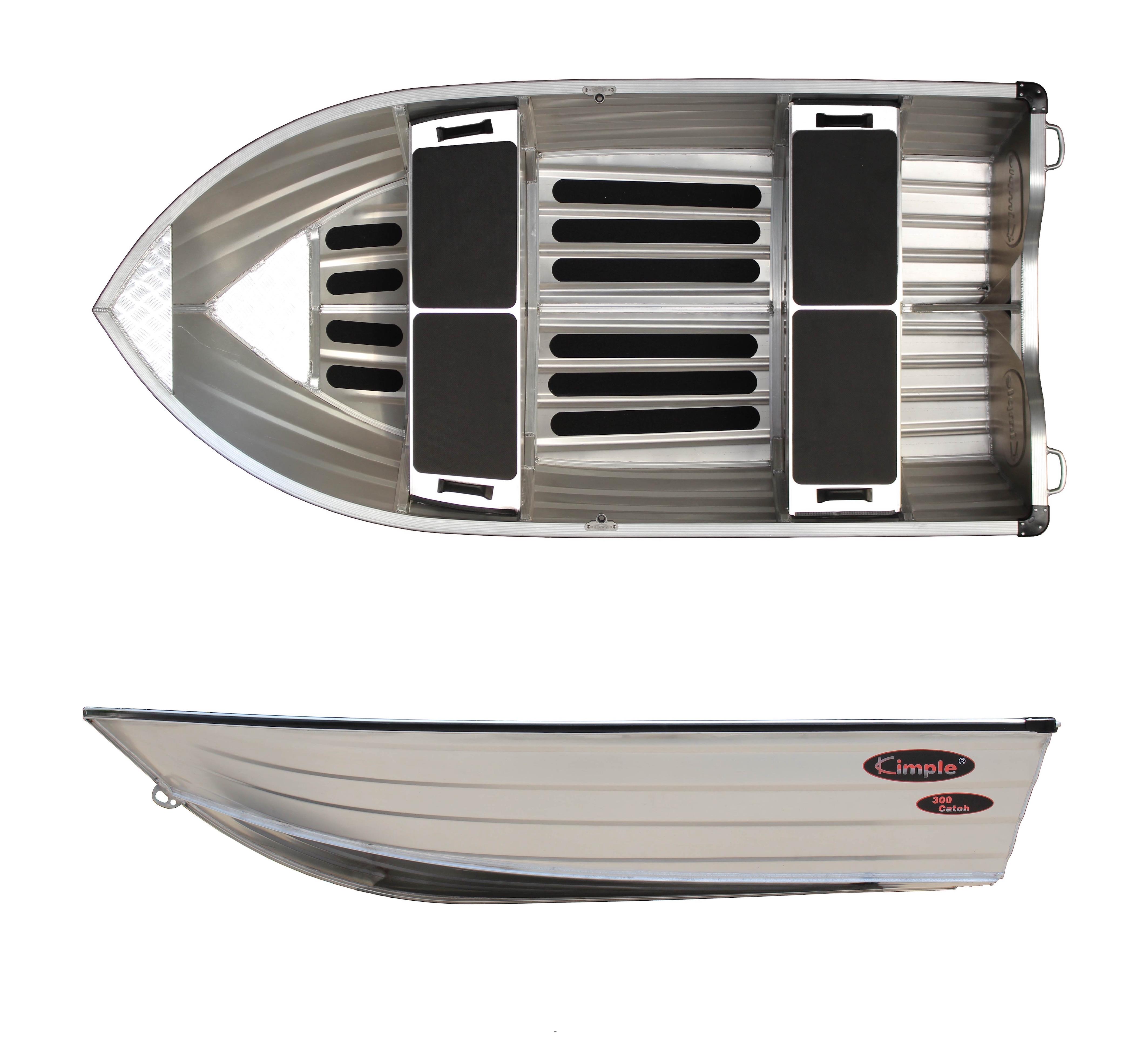 Aluminiumsbåt Kimple 300 Catch