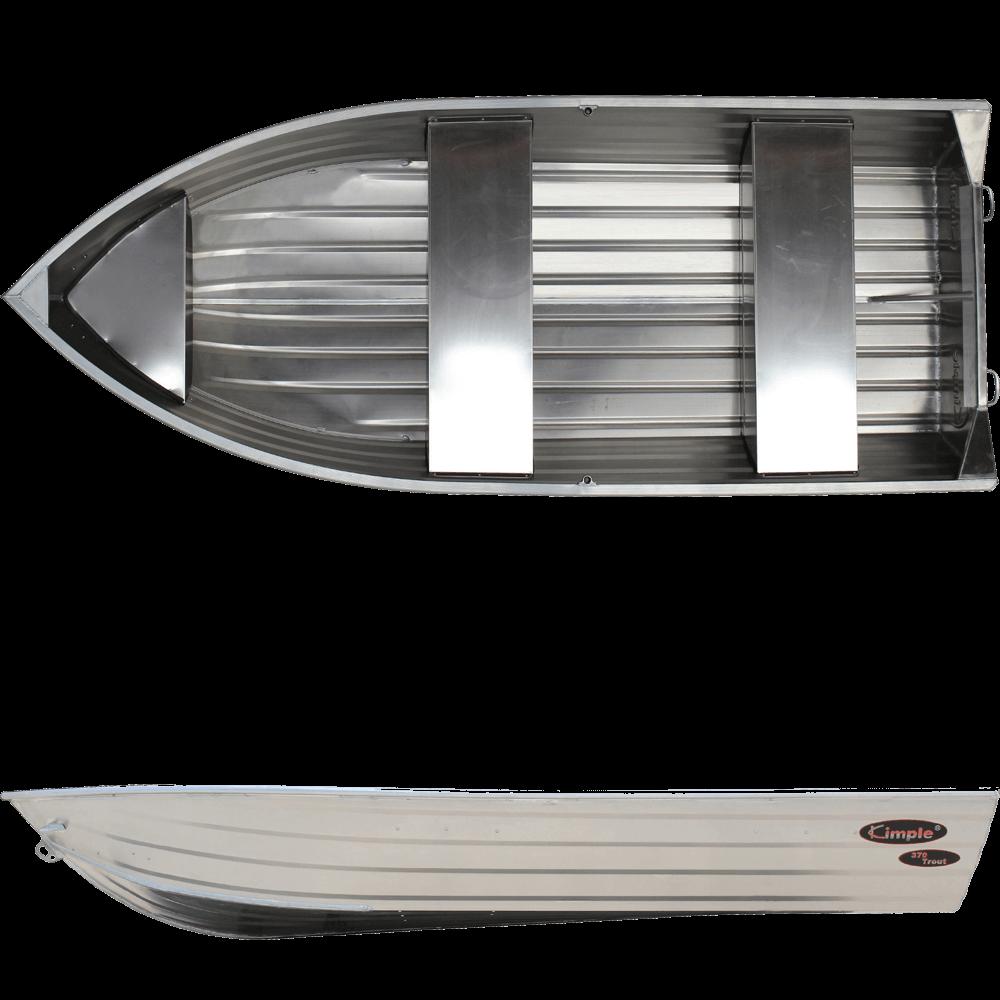 Aluminiumsbåt Viking 440 med konsoll