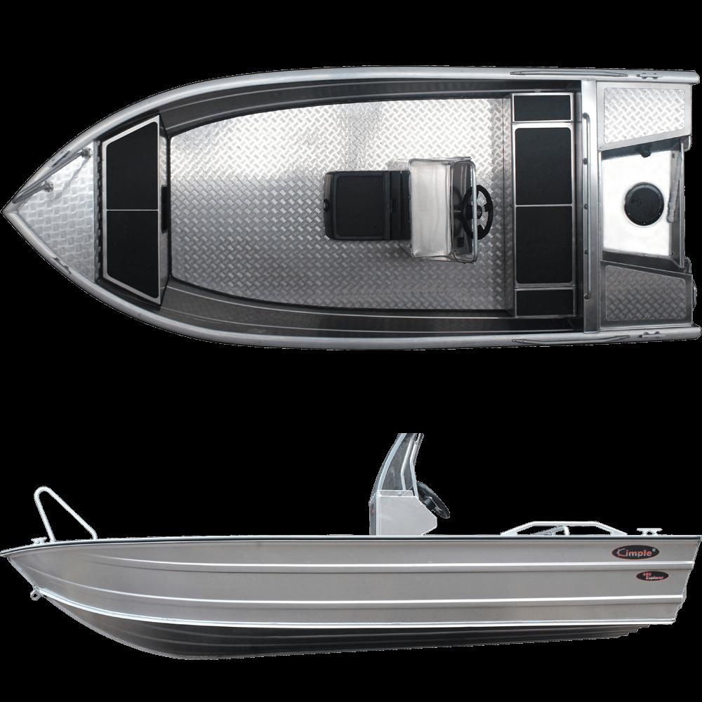 Aluminiumsbåt Kimple 370 Trout